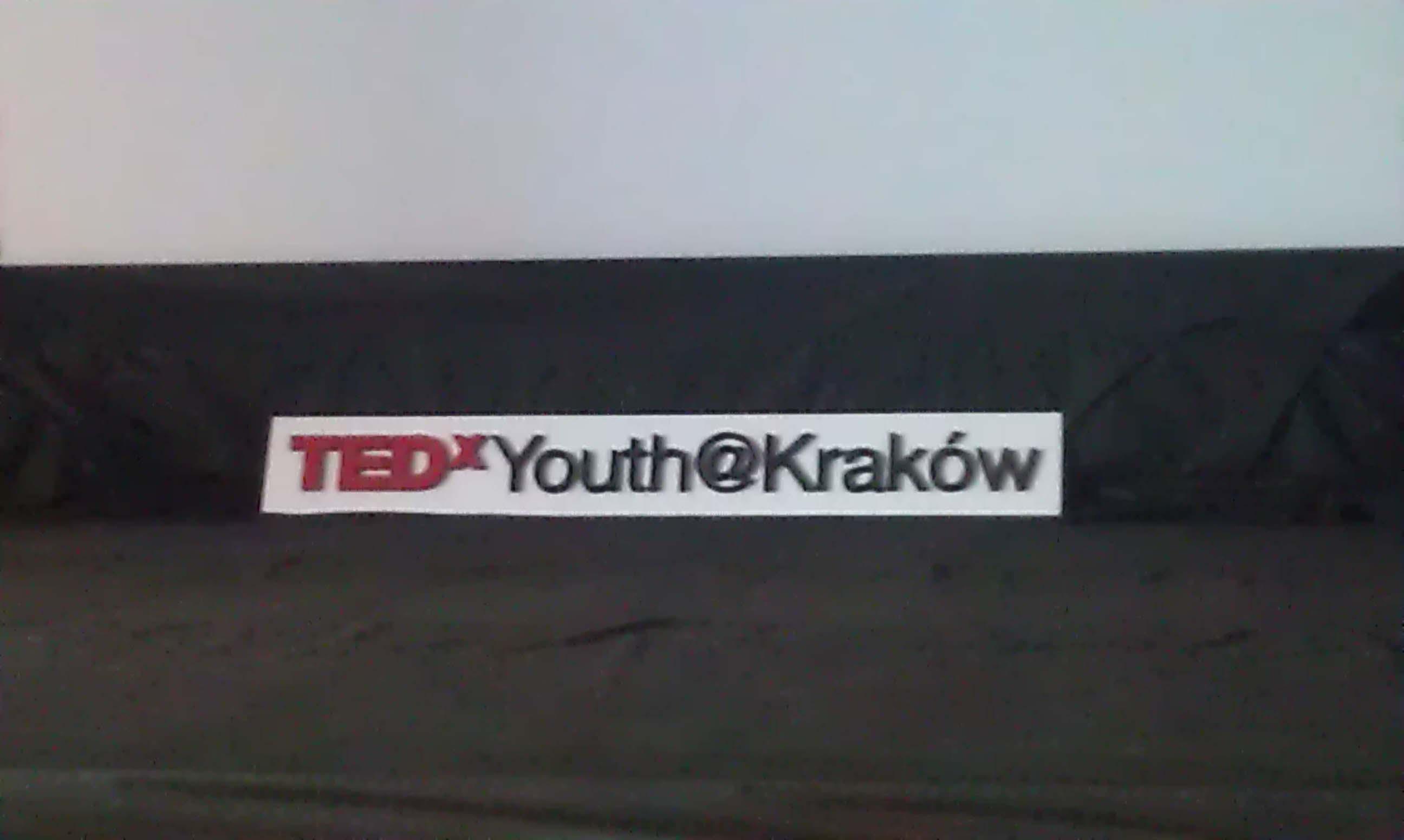 TEDxYouth@Kraków - bardzo fajna konstrukcja