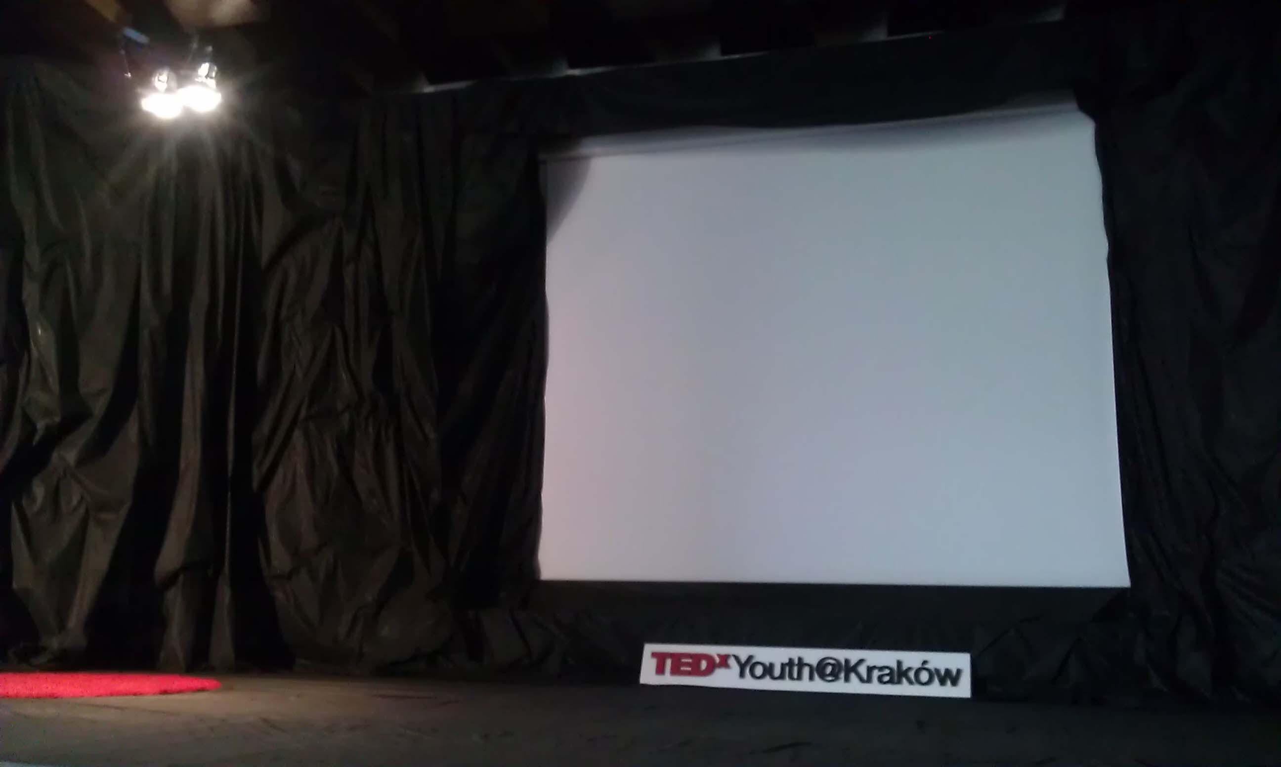 TEDxYouth@Kraków - scena