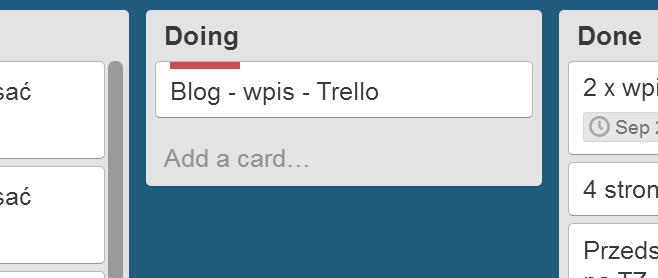 Trello, czyli sposób naszybkie planowanie
