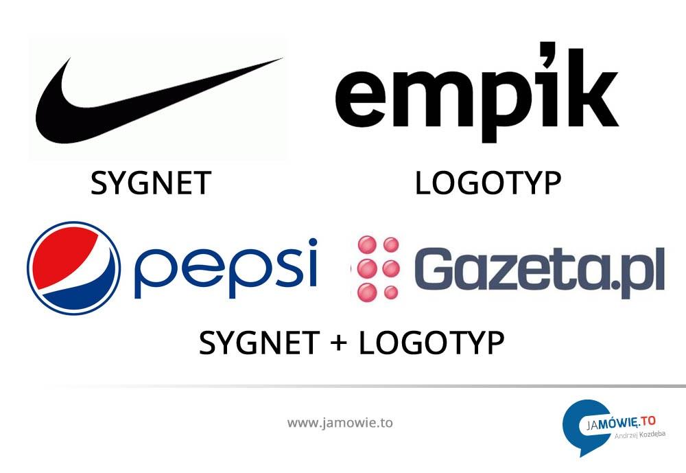 jak zrobić logo - sygnet + logotyp = logo   www.jamowie.to   Ja mówię to