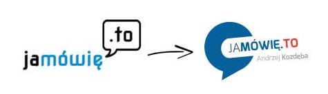 jak zrobić logo firmy? logo Ja mówię to- transformacja - www.jamowie.to