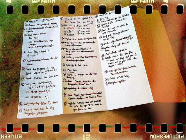 produktywny tydzień - www.jamowie.to - ja mówię to