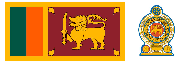Sri Lanka - godło, flaga - Ja mówię TO