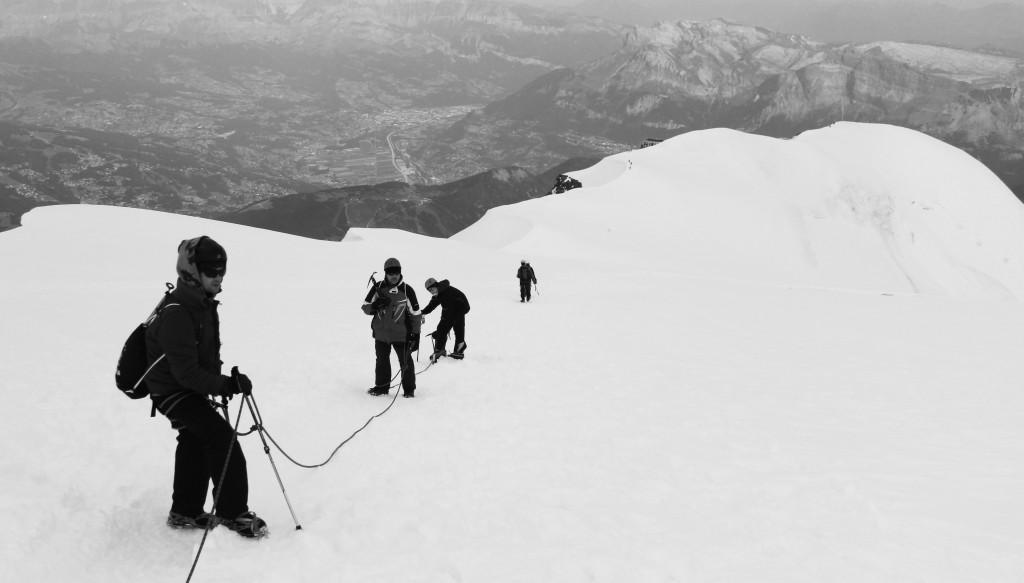 Zejście z Mont Blanc - Ja mówię TO