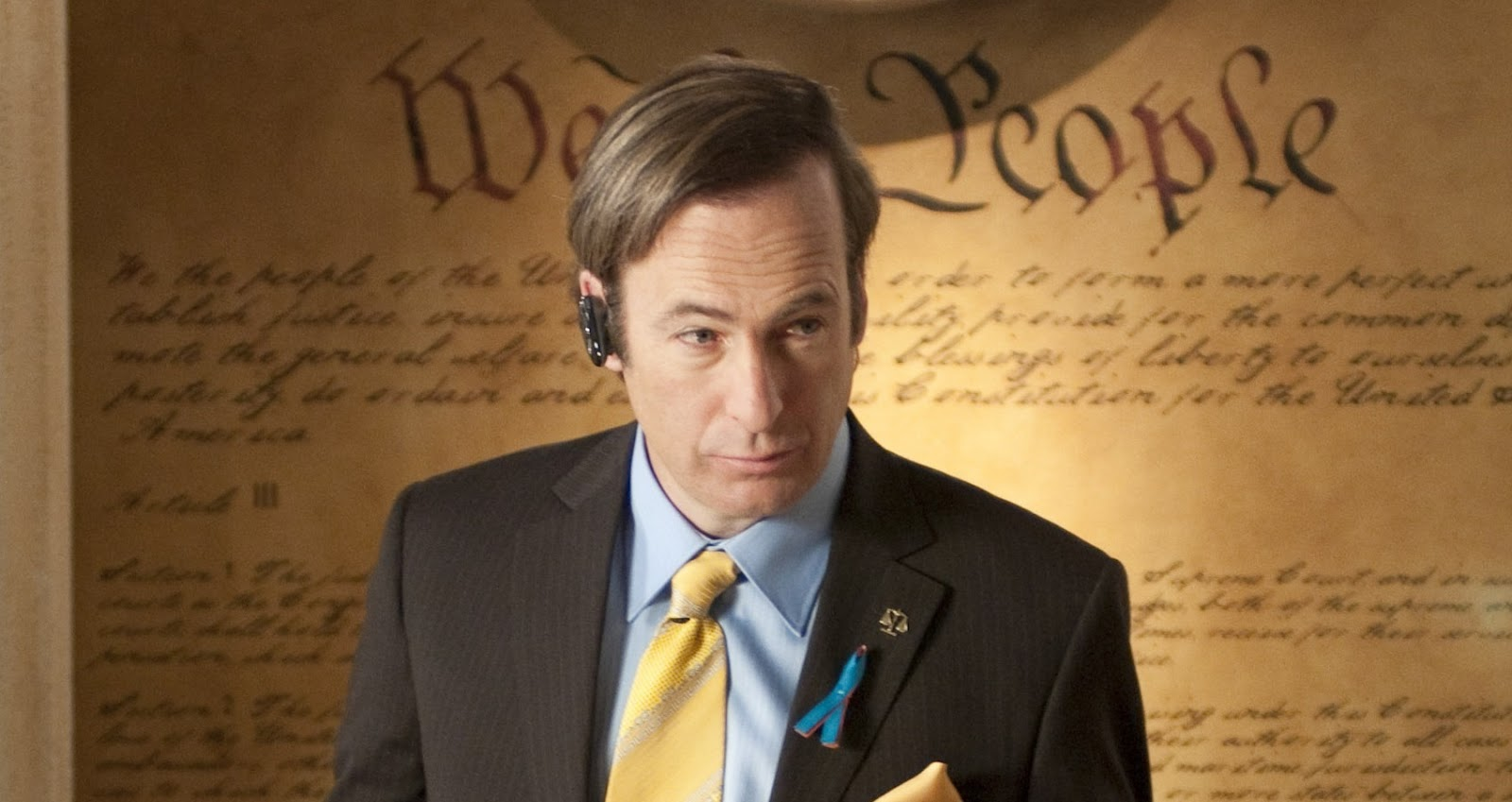 Saul Goodman aka James McGill Better Call Saul Ja mówię TO https://jamowie.to Źróło foto: bettercallsaul.com.pl