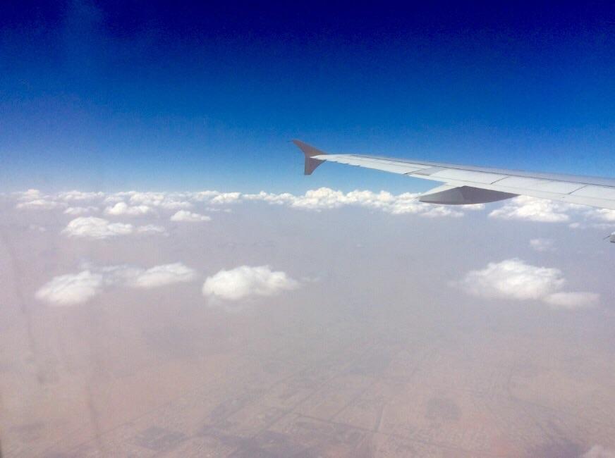 Samolot - widok z okna - Ja mówię TO http://jamowie.to 1