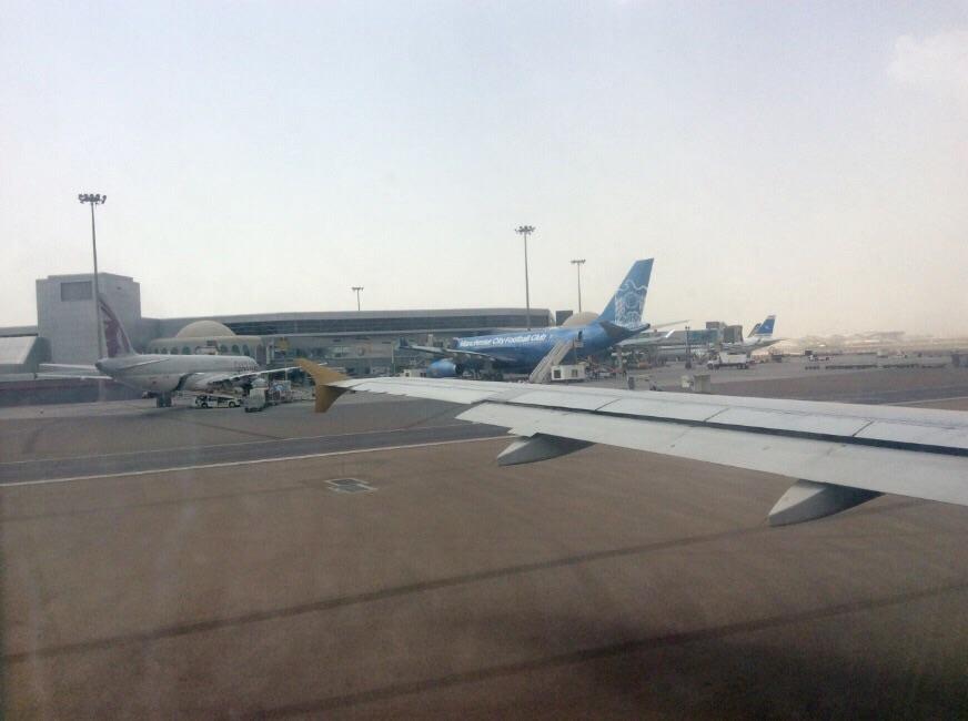 Samolot - widok z okna - Ja mówię TO https://jamowie.to 2