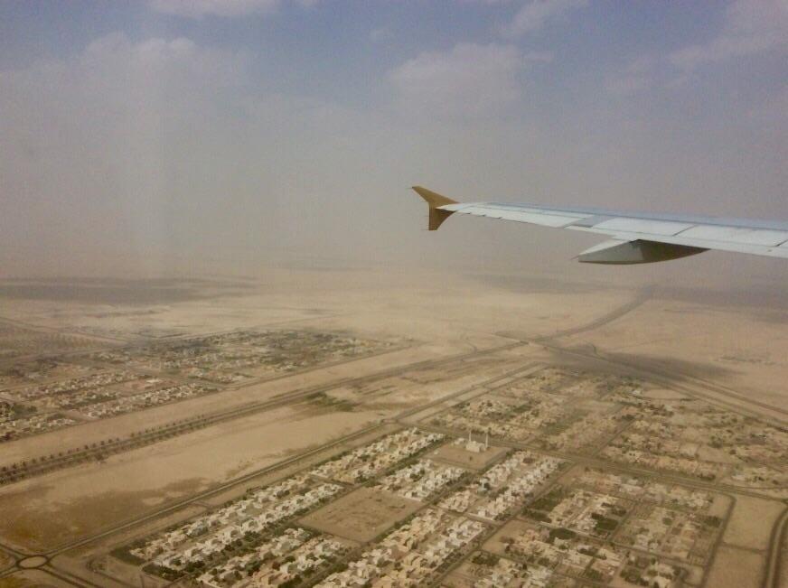 Samolot - widok z okna - Ja mówię TO http://jamowie.to 3