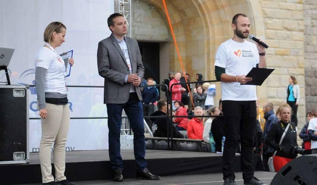 Poznań Business Run 2015 - Ja mówię TO - foto: Głos Wielkopolski Łukasz Gdak