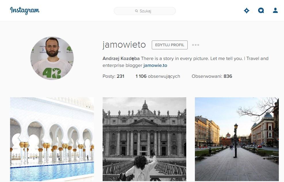 instagram - konto Andrzej Kozdęba Ja mówię TOhttp://jamowie.to