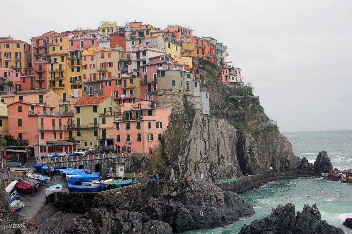 Moje ulubione miejsca w Europie - Cinque Terre - Ja mówię TO http://jamowie.to