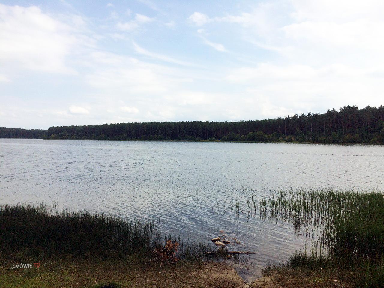 Jezioro Długie - Kamienne Kręgi w Węsiorach - Ja mówię TO http://jamowie.to