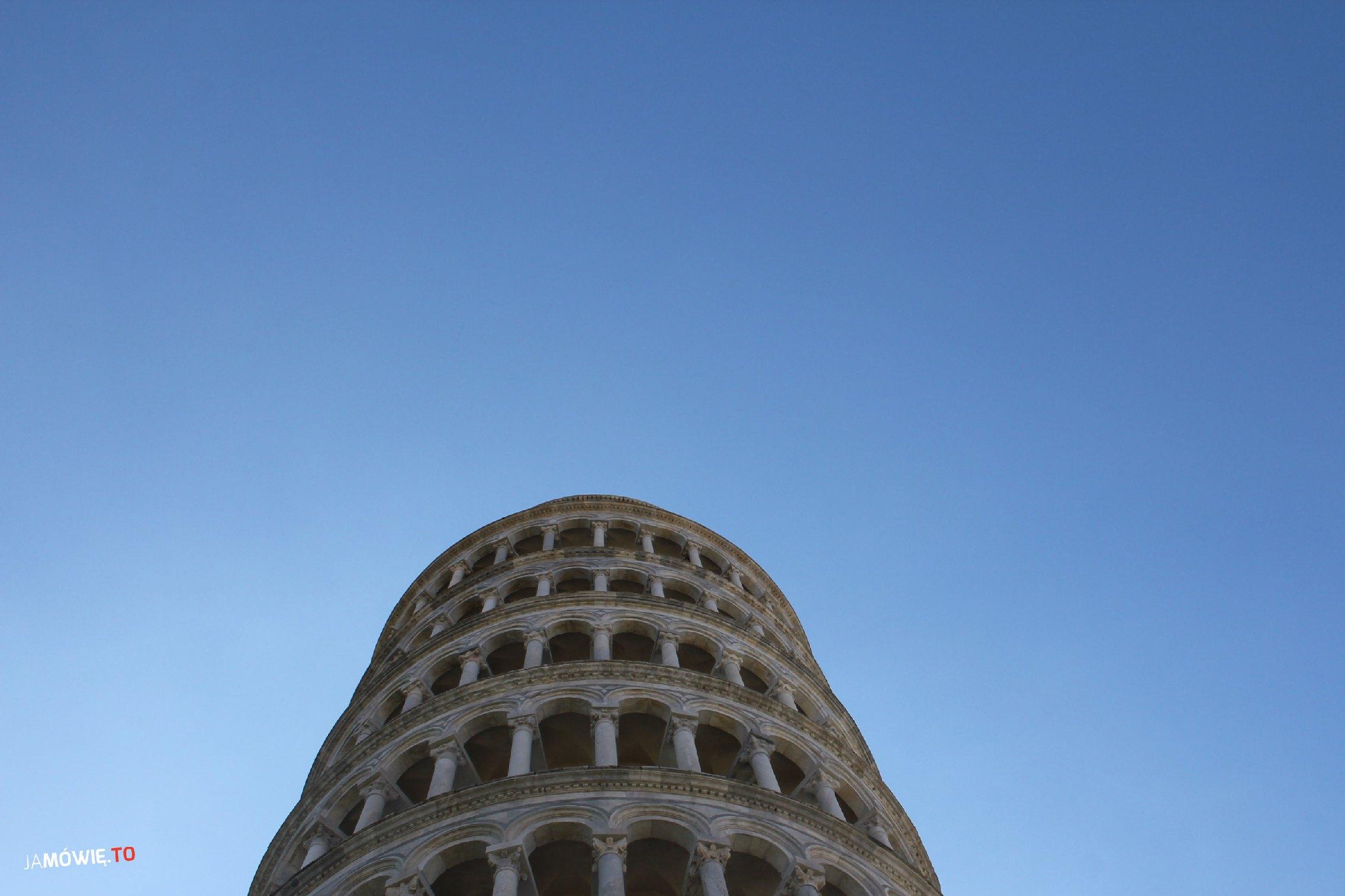 Czy krzywa wieża w Pizie upadnie? Ja mówię TO http://jamowie.to