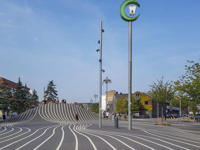 Superkilen Park - ciekawe miejsca w Kopenhadze za darmo - Ja mówię TO